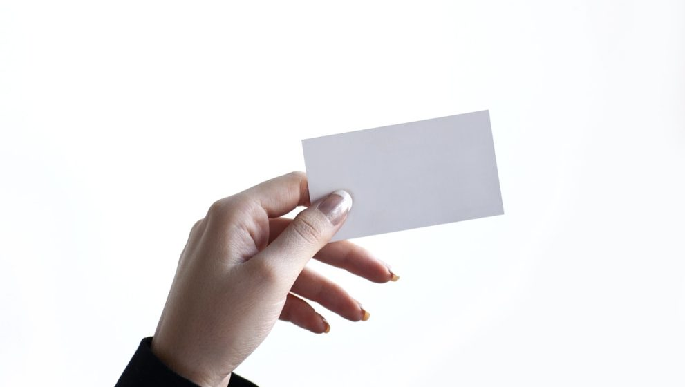 Instrukcja obsługi wizytówki