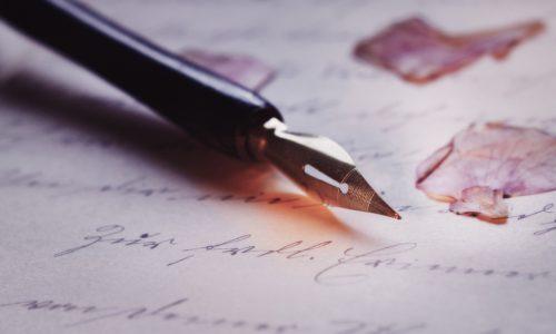 długopis człowieka z klasą